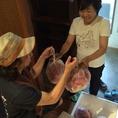 黒崎の契約農家さんから直接野菜を仕入れています!