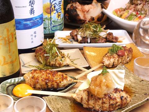 岡山・田町で焼き鳥たべたいならココ★焼き鳥屋がつくる、鶏鍋あり!