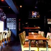 洗練された空間で美味しい料理とお酒を愉しんで♪