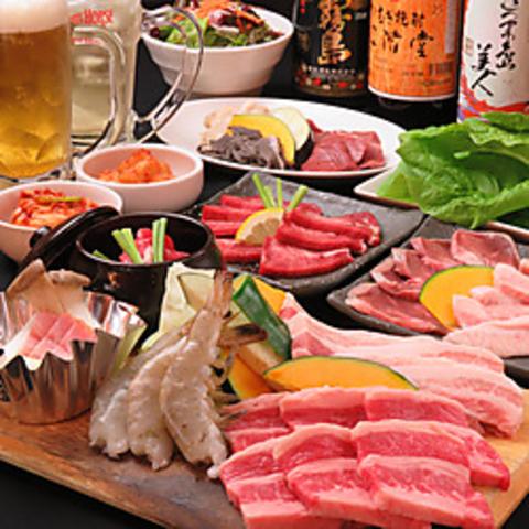 野菜もたっぷりバランス良く♪太平楽人気の焼肉食べ放題!