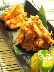 料理メニュー写真キムチ盛合せ/本日のナムル2種