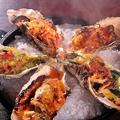 料理メニュー写真グリル牡蠣盛合わせ