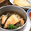 料理メニュー写真鮭といくら