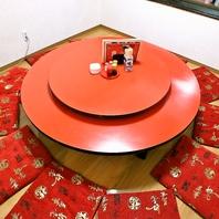 丸テーブル個室!1組限定最大12名様まで宴会OKです!