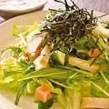 料理メニュー写真ぱたぱた家サラダ