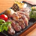 料理メニュー写真宮崎県産 あじ豚と野菜のグリル 宮古島の天然塩で