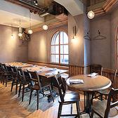 名古屋駅から徒歩5分♪ヨーロッパの片田舎の食堂をイメージしたオシャレな雰囲気の店内で、本格地中海料理やワインをお召し上がり下さい★テーブル席は26名様まで大テーブルに変更可能★