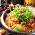 料理メニュー写真鶏の鉄板すき焼き(一人前)