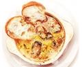 料理メニュー写真アヒージョ 牡蠣