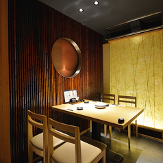 2~4名様用テーブル個室です。接待、会食、商談などに最適のお部屋です。