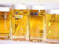 日本の生ビール初めて飲むビールにもぜひ挑戦してみてください♪また、ビールに良く合うメニューも多数!ソーセージや、だん家特製のオーブングリルなど、ビールと合わせてどうぞ。