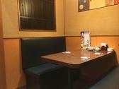 ちょとした飲み会に最適のテーブル席です。