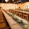 貸切専用フロア [STUDIO618] も結婚式の二次会や各種パーティーでご利用ください。