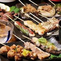お肉、魚介類、お野菜を厳選素材を、絶妙な焼き加減で。