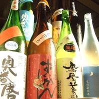 日本酒常時40種・焼酎25種