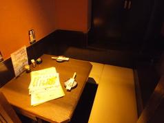 デートにもぴったりなお席☆半個室席です。