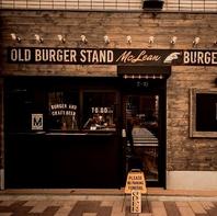 McLEAN -old burger stand-の姉妹店!
