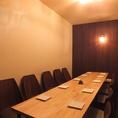 大人気のテーブル個室