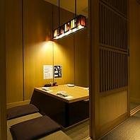 大部屋から小部屋まで様々なタイプの個室がございます!