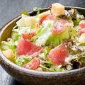 料理メニュー写真アボカドのシーザーサラダ/大根サラダ/韓国チョレギサラダ