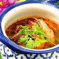 料理メニュー写真タイ風海老のスープ~トムヤムクン~