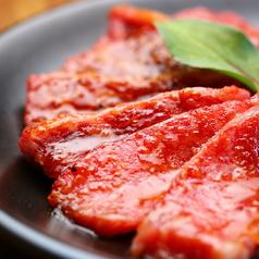 料理メニュー写真黒毛牛カルビ たれ焼き/黒毛牛ロース たれ焼き