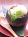 料理メニュー写真壷焼きフレンチトーストバニラアイス讃岐和三盆のせ