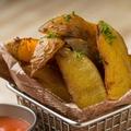 料理メニュー写真熟成プレミアムインカのフライドポテト