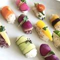 料理メニュー写真野菜寿司
