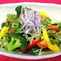 料理メニュー写真いばらきの地野菜 グリーンサラダ