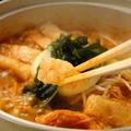 料理メニュー写真からから鍋(ホルモン)
