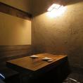 1F半個室4名様テーブル1卓ご用意致します。※写真は、イメージです。