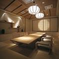 個室名:久美川 VIP 室料5400円(税込)