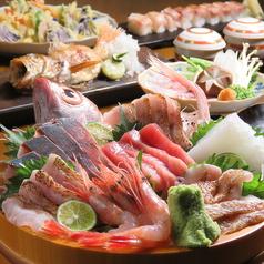 魚吟 うおぎん 金沢のコース写真