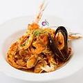 料理メニュー写真海の幸のトマトスパゲッティ