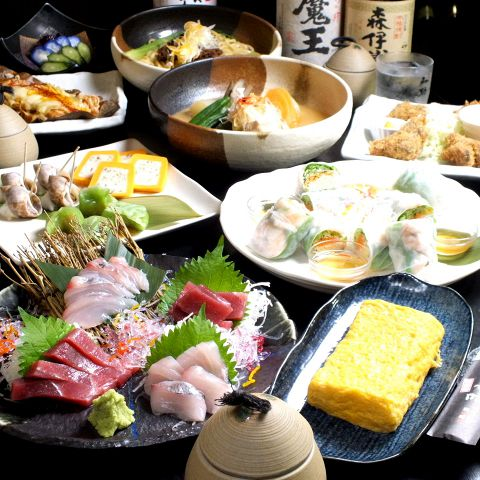 宴会コース☆10品3時間飲み放題付き4250円(税込)♪