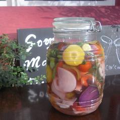 Homemade vegetables Pickles