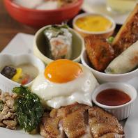 東南アジアの名物料理を全て盛込んだ大人のお子様ランチ