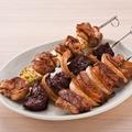 料理メニュー写真肉串3種盛り