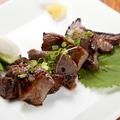 料理メニュー写真仙台名物 厚切り牛タンの塩麹漬焼き