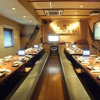 最大40名カラオケ無料個室