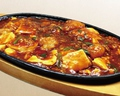 料理メニュー写真小悪魔風鉄板麻婆豆腐
