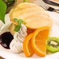 料理メニュー写真米粉パンケーキ