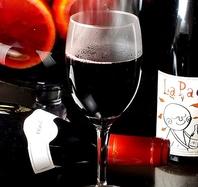 ビール、ワイン、カクテルなど豊富なお酒もなんと380円