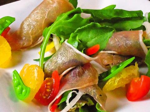 和から見た洋・中・イタリアンの創作料理。和でありながらアジアテイストも味わえる。
