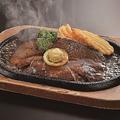 料理メニュー写真熟成肉のビーフステーキ