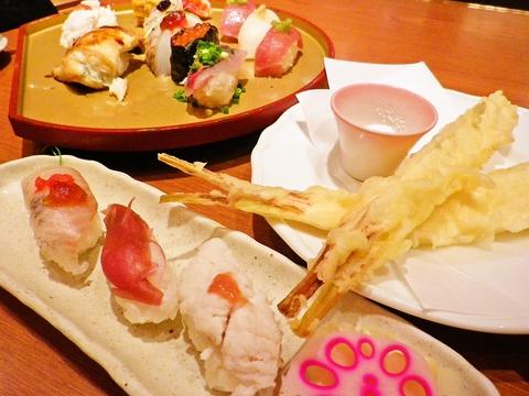 カウンターに座って、お好みで嗜む江戸前寿しをリーズナブルに堪能できる人気店。