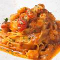料理メニュー写真甘エビの濃厚トマトクリームソース