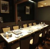 接待やご家族でのお食事にも最適なテーブル席!!