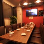 2~16名様まで可能なテーブル個室は普段使いだけでなく、接待やデート・合コンなど様々なシーンでご利用頂けます。